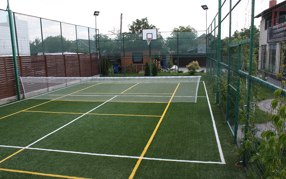Монтаж спортивного оборудования для спортивных площадок