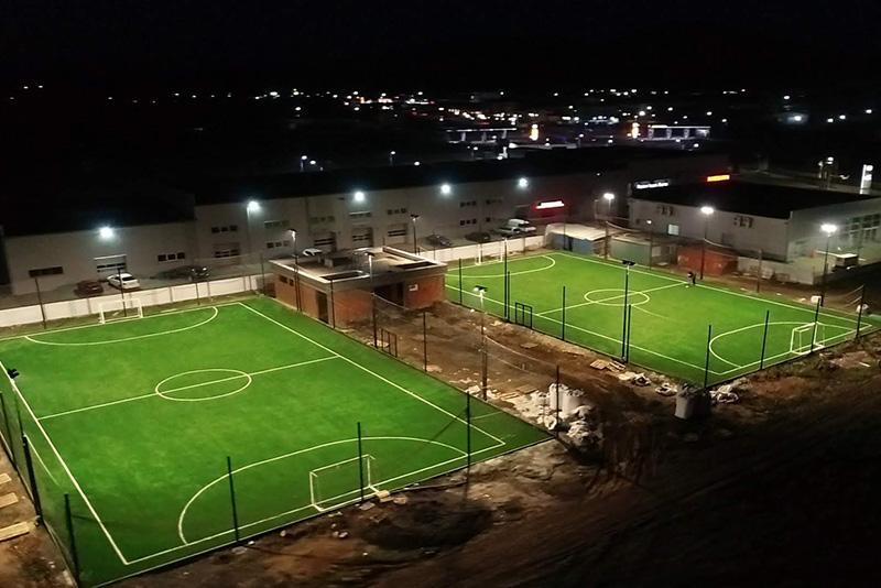 Футбольные спортплощадки в Мукачево построила компания Pro-Sport