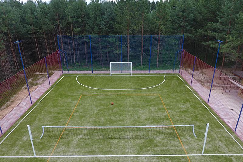 Монтаж универсальной спортивной площадки под ключ от компании Pro-Sport
