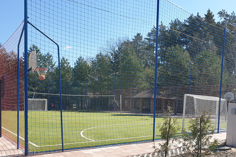 Строительство универсальной спортивной площадки под ключ от компании Pro-Sport
