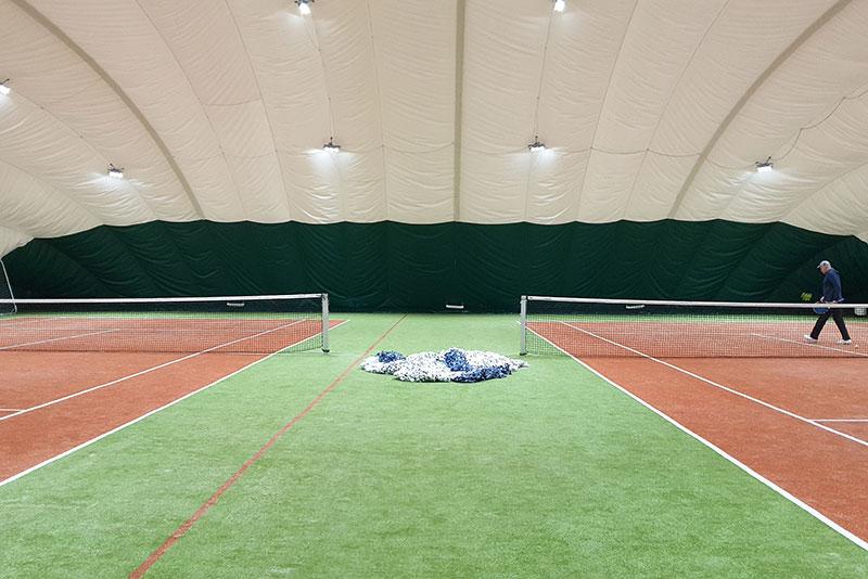 Строим теннисные корты по технологии