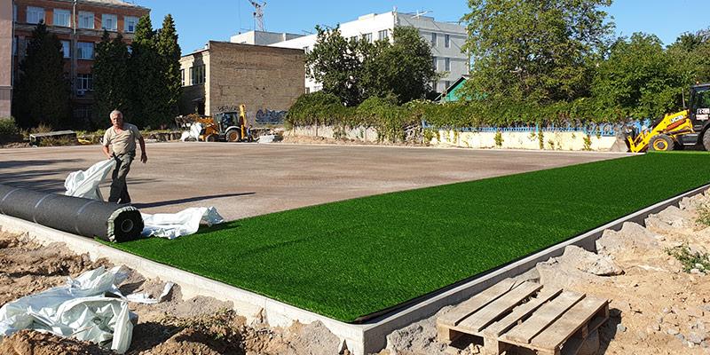 ProSport Инсталляция искусственной травы