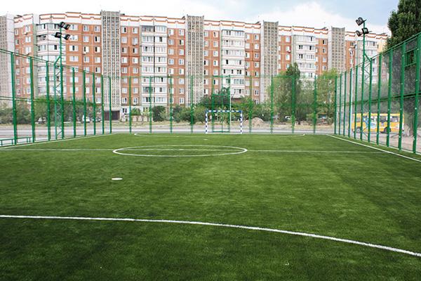 Проект компании Pro-Sport 2012 года: футбольная площадка в Черкассах