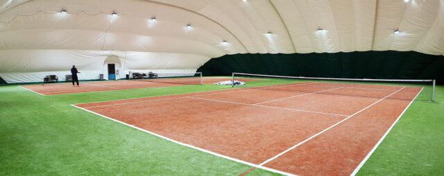 Покрытия используемые при строительстве теннисного корта