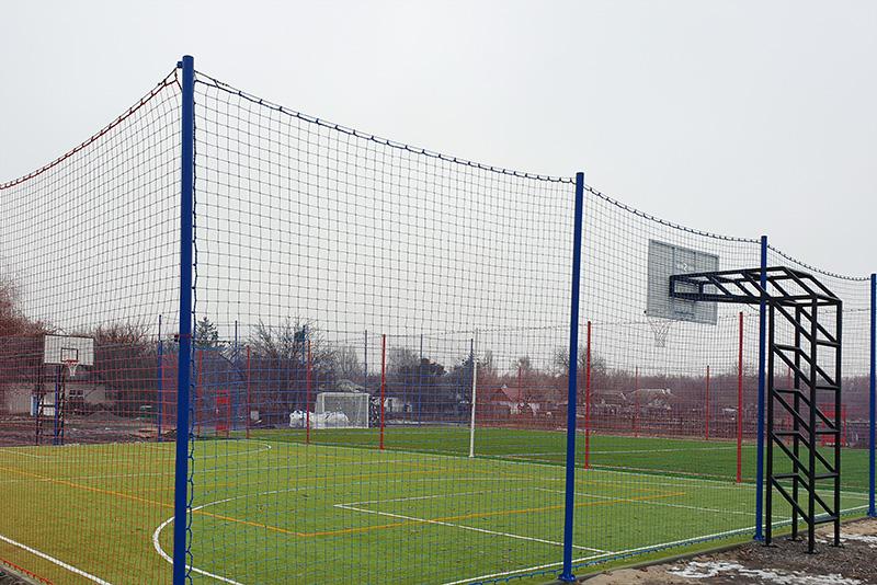 Заказать монтаж универсальной спортивной площадки в компании Pro-Sport