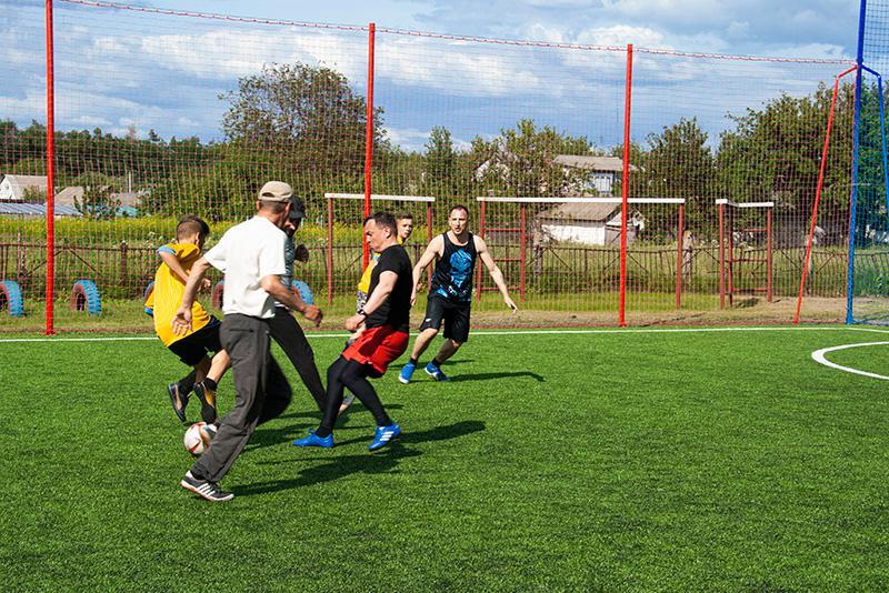 Строительство мини футбольной площадки с гарантией село Худяки